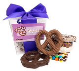 Twisted Six Gourmet Chocolate Dipped Pretzels Gift Box at AllCityCandy.com