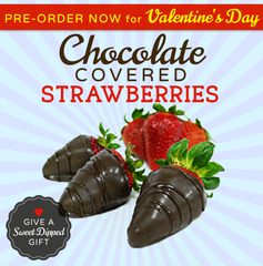 Pre-Order Chocolate Covered Strawberries for Valentine's Day