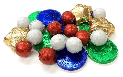 Bulk Foil Wrapped Candy