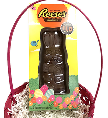 Easter Basket Centerpiece: Big Chocolate Bunny
