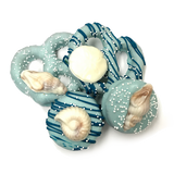 Blue Assortment with Chocolate Embellishment