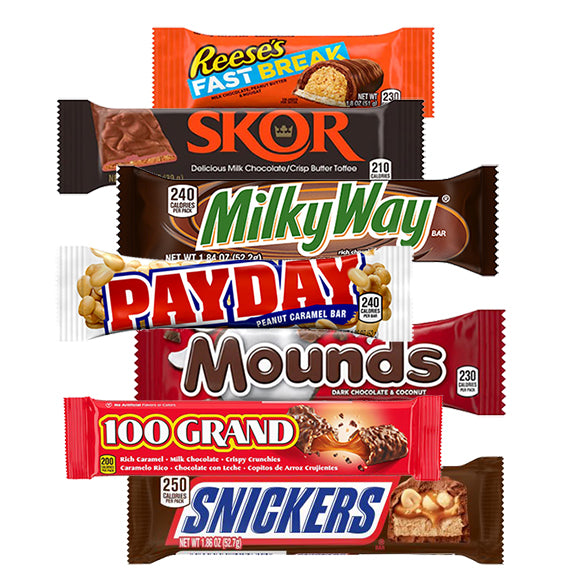 Classic Candy Bar Favorites On Sale at All City Candy 20 Percent Off Through August