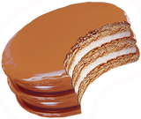 Double Decker Moon Pie
