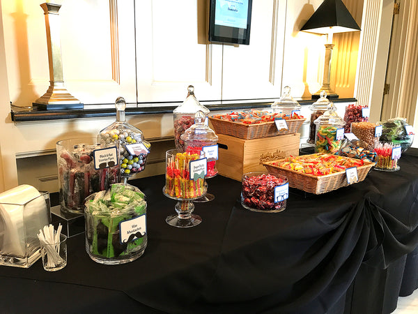 Father's Day Country Club Event Candy Buffet by All City Candy