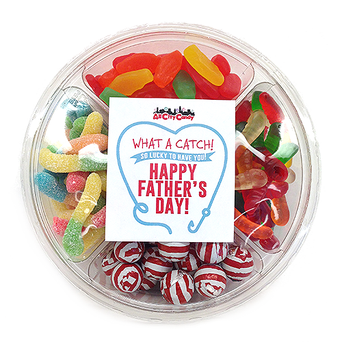 What a Catch Fishing Themed Candy Father's Day Gift