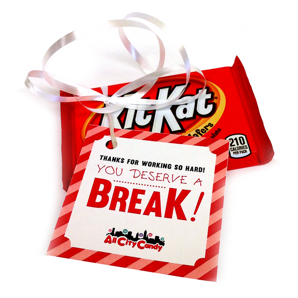 Irresistible image regarding you deserve a break printable