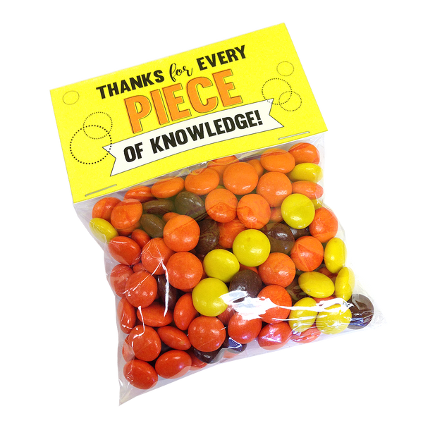 Pieces of Knowledge Reese's Pieces Free Printable