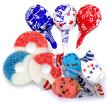 Red White and Blue Candy for Fourth of July
