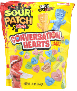Sour Patch Kids Conversation Hearts - 13-oz. Bag