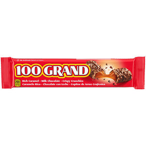 100 Grand Candy Bar 1.5 oz. - ON SALE NOW