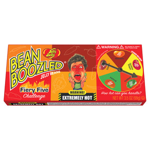 Jelly Belly BeanBoozled Firey Five Spinner Gift Set -  3.5 oz Gift Box