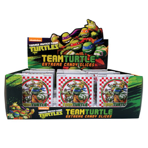 Teenage Mutant Ninja Turtle Team Turtle Pizza Slices Sour Hard Candy - 1.2-oz Tin