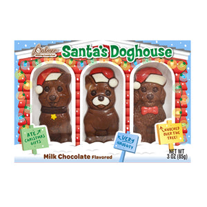 Palmer Milk Chocolate Santa's Doghouse - 3-oz. Package