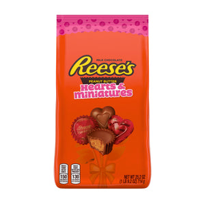 Reese's Peanut Butter Hearts and Miniatures Valentine's Mix - 25.2-oz. Bag