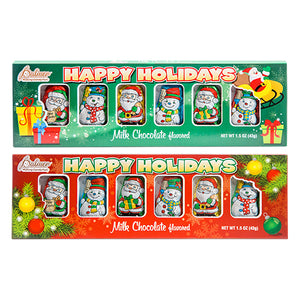 Palmer Milk Chocolate Mini Santa and Snowmen - 1.5-oz. Package