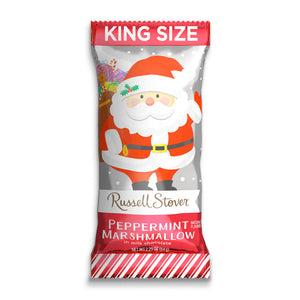 Russell Stover Peppermint Marshmallow Santa - 2.25-oz. Bar