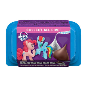 Hershey's Kisses Treasure Surprise Milk Chocolate With My Little Pony Toys