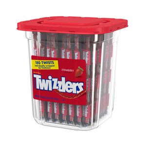 Twizzlers Wrapped Twists 180 Count Tub
