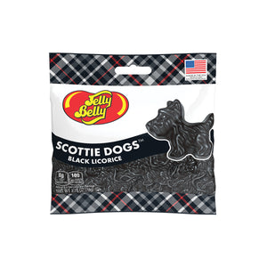 Jelly Belly Black Licorice Scottie Dogs - 2.75-oz. Bag