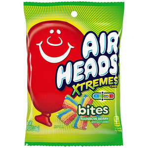Airheads Xtremes Bites Rainbow Berry Soft & Chewy Candy - 3.8-oz. Bag