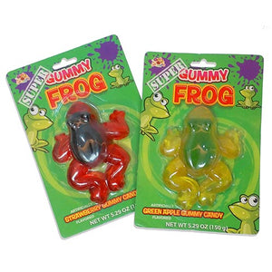 Albert's Super Gummy Frog Gummy Candy 5.29 oz.