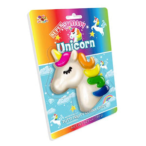 Albert's Super Gummy Unicorn Tutti Fruity Gummy Candy 5.29 oz.