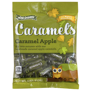 Atkinson's Caramel Apple Caramels - 4-oz. Bag