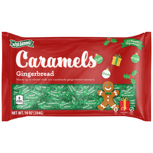 Atkinson's Gingerbread Caramels - 10-oz. Bag
