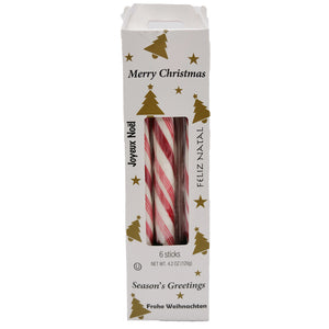 Atkinson's Merry Christmas Stocking Stuffer Mint Sticks - 4.2 oz.
