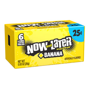 Now and Later Banana Candy 6-Pack