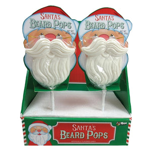 Santa's Beard Pops Lollipop 2.8 oz.