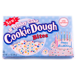 Birthday Cake Cookie Dough Bites - 3.1-oz. Theater Box
