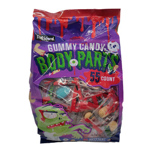 Gummy Candy Body Parts - Bag of 55