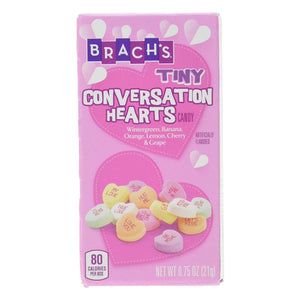 Brach's Tiny Conversation Hearts Candy - .75-oz. Box