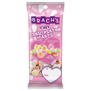 Brach's Tiny Conversation Hearts Candy - 3-oz. Bag