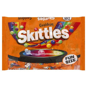 Cauldron Skittles Bite Size Candies Fun Size Bags - 10.7-oz.  Bag