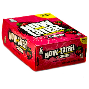 Now and Later Cherry Candy 6-Pack