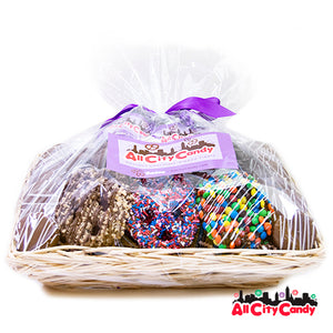 Cravings Collection Gourmet Chocolate Covered Treats Gift Basket