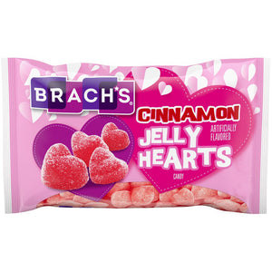 Brach's Cinnamon Jelly Hearts Candy - 12 oz Bag