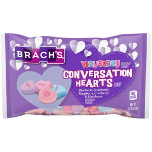 Brach's Very Berry Conversation Hearts - 6-oz. Bag