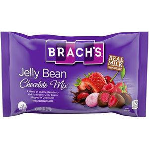 Brach's Jelly Bean Chocolate Mix - 8-oz. Bag