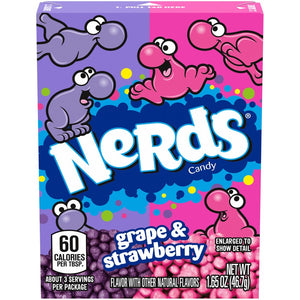 Nerds Grape & Strawberry Candy - 1.65-oz. Box