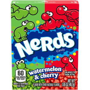 Nerds Watermelon & Cherry Candy - 1.65-oz. Box