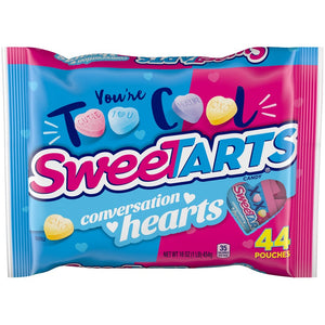 SweeTARTS Conversation Hearts Treat Bags - 44 Count