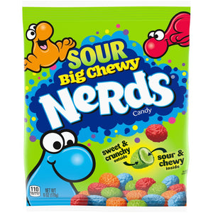Sour Big Chewy Nerds Candy - 6-oz. Bag