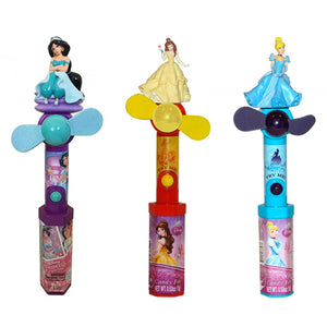 Disney Princess Character Fan Candy Toy