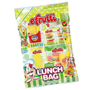 efrutti Gummi Sour Lunch Bag 2.7 oz.