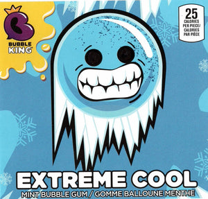 "Bubble King Extreme Cool 1"" Mint Gumballs - Bulk Bags"