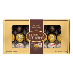 Ferrero Assorted Chocolate Collection - 18-Piece Gift Box