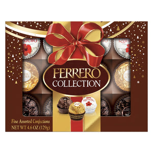 Ferrero Assorted Chocolate Holiday Collection - 12-Piece. Gift Box